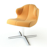3d model armchair ligne roset