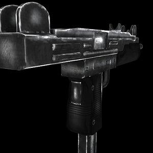 uzi weapons pistol 3ds