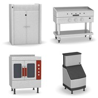 kitchen machines 3d model