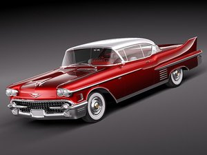 cadillac deville coupe luxury 3ds