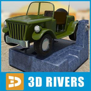 kiddie ride 3d model