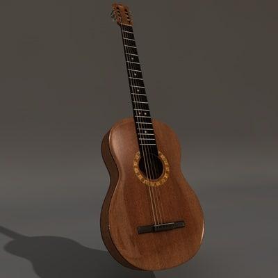 3d guitar