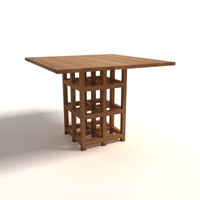 Charles Rennie Mackintosh DS2 Table