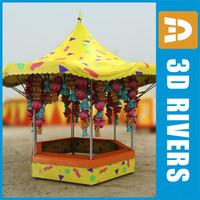 fair booth toys 3d 3ds