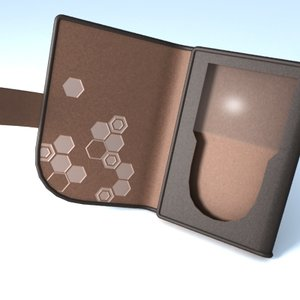 accessory ipods case leather 3d model