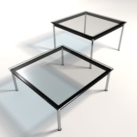 Le Corbusier LC10 Dining & Coffee Tables 120x120
