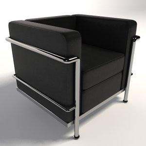 le corbusier lc2 armchair lwo