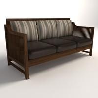 Frank Lloyd Wright Oak Park Sofa