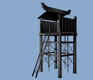 guard house 3d model