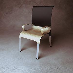generic design chair 3d model