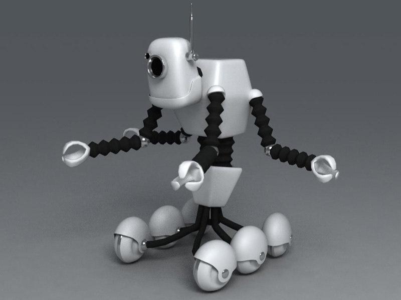 robot cartoon max