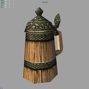 pint games 3d model