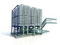 desalination rack 3d model