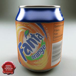 drink 0 237l aluminium 3d model
