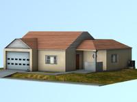 3d house single residence