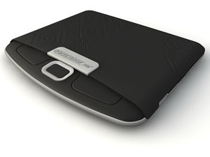 pocketbook ereader 3d model