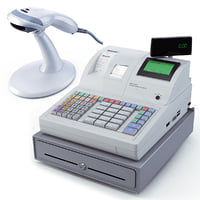 Sam4s SAM-7040 Cash Register and Scanner bar code