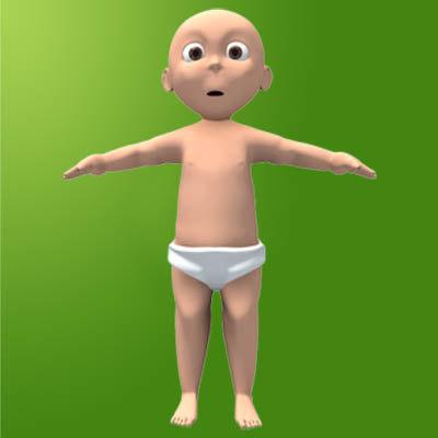 baby boy 3d 3ds