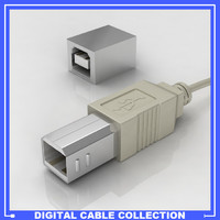 USB Printer Type B Connector Male/Female