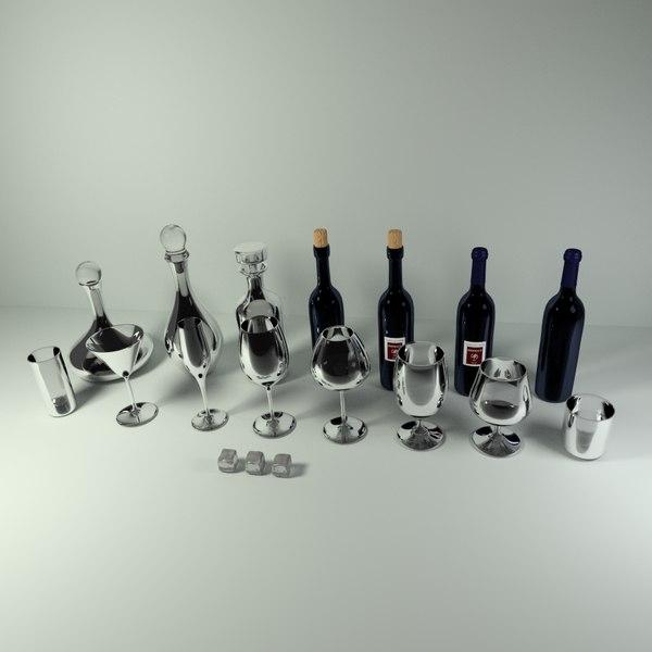 blend wine bar glassware pack
