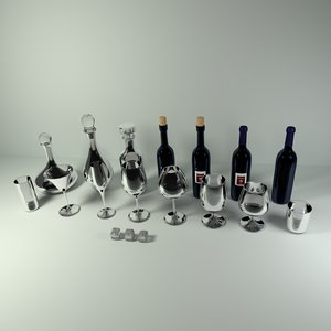 blend wine bar glassware pack