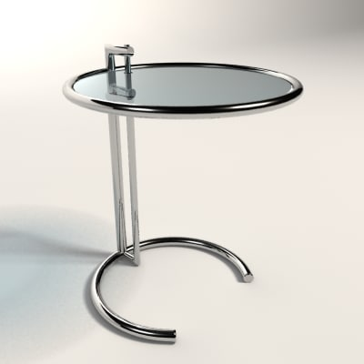 3d eileen gray adjustable table