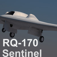US Air Force RQ-170 Sentinel UAV Beast of Kandahar