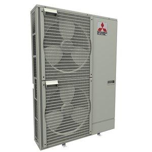 heat pump mitsubishi ecodan 3d model