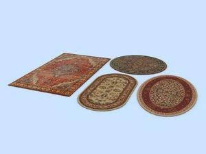 persian rugs 3d model