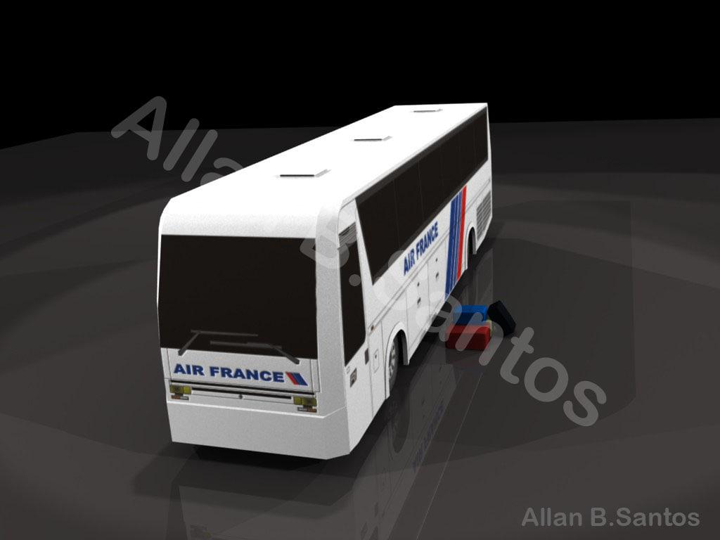 france bus 3d model