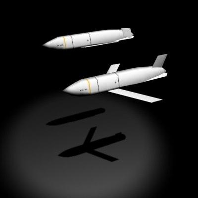 jassm missile 3d model