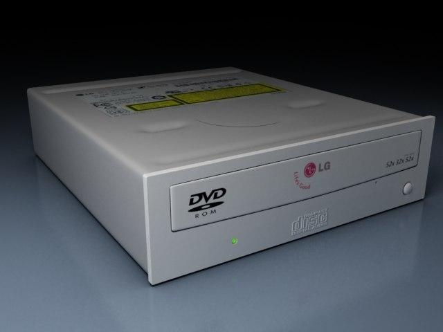 3d model cdr grabadora