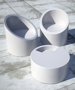 maya lipstick table chair