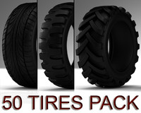50 TIRES PACK
