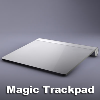 magic trackpad c4d