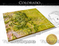 Colorado, High resolution 3D relief maps