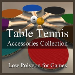 table tennis accessories 3d 3ds