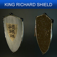 shield richard 3d model