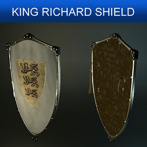shield richard 3d model