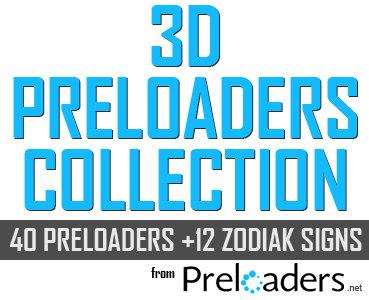 3d preloaders