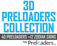 3D Preloaders collection
