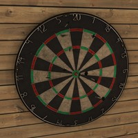 Dartboard and dart