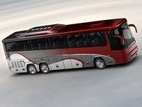 9900 bus 3d model