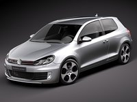 Volkswagen Golf 6 GTI 3-door
