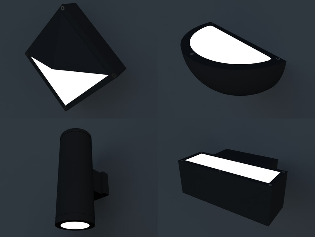 3d model lamps lighting