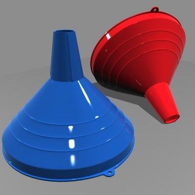 kitchen funnel 3d model