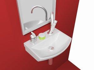 small sink 3d model