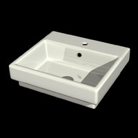 3d breeze step basin model