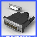 DVI-D Connector 3D models