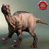 dinosaur iguanodon 3d model